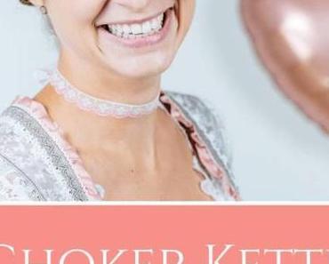 Choker Kette: Schmuck selber machen aus Spitzenband