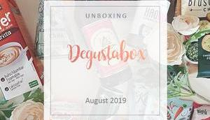 Degustabox unboxing August 2019