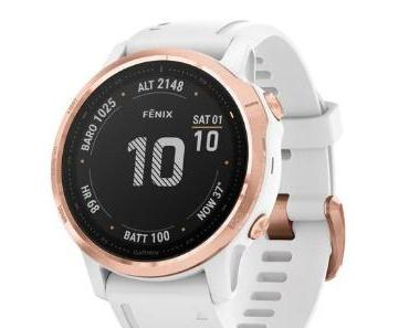 Garmin Fenix 6 – die Premium Smartwatch für Sport und Outdoor