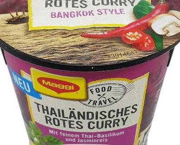 Maggi - Food Travel - Thailändisches Rotes Curry Bangkok Style