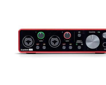 Review – Focusrite Scarlett 2i2