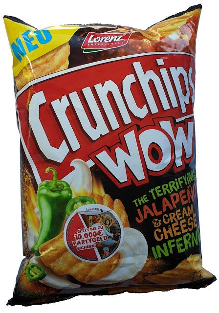 Lorenz Snack-World - Crunchips Jalapeño & Cream Cheese