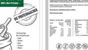 Test: MACHT'S Proteinpulver PROTEINMACHER