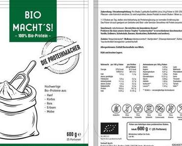 Im Test:  BIO MACHT'S Proteinpulver von DIE PROTEINMACHER