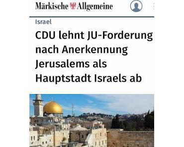 Gelebter Antisemitismus der CDU