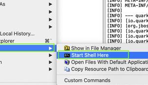 """wenn StartExplorer """"Start Shell Here"""" unter Eclipse 2019-09 nicht mehr angezeigt wird?"""