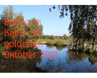 Golfen – goldener Oktober