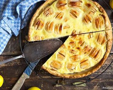Elsässer Apfelkuchen mit Rahmguss