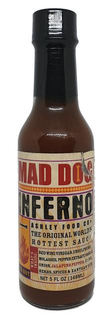 Ashley Food - Mad Dog Inferno Hot Sauce