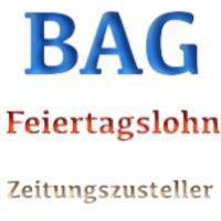 BAG: Feiertagsvergütung von Zeitungszustellern