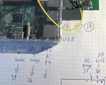 Zigbee CC2531 mit neuer Firmware vom Raspberry Pi aus flashen ohne CC Debugger