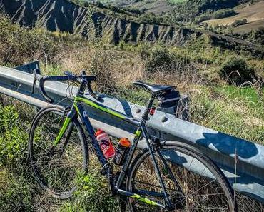 Mit Rennrad und Familie in der Emilia Romagna