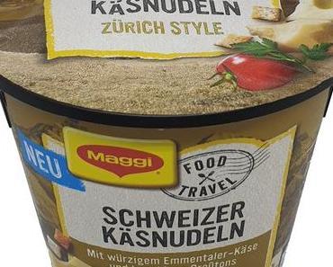 Maggi - Food Travel - Schweizer Käsnudeln Zürich Style