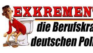 Exkrementismus, Berufskrankheit deutschen Politparasiten