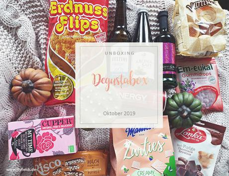 Degustabox - Oktober 2019 - unboxing