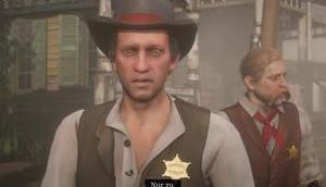 Hinterhergeschickt Ankunft beim Sheriff RDR2