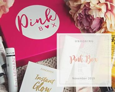 Pink Box - November 2019 - unboxing