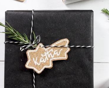 DIY weihnachtliche Kork-Anhänger für Geschenke + Weihnachtsbaum   PILOT PINTOR* + Give Away