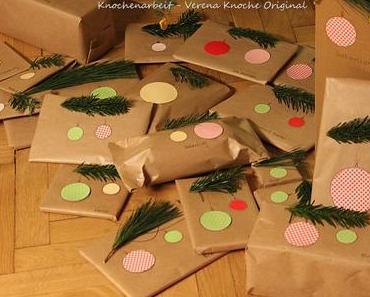 Geschenke einpacken mit Packpapier: Nicht nur Weihnachten eine Idee
