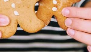 Gingerbread Männchen Nelkenfreunde