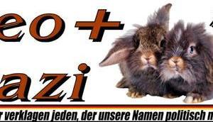 Neo+Nazi, verklagen jeden unsere Namen politisch missbraucht!