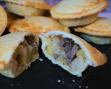 Ich bin ein kleiner Pasteten Fan und liebe Cornish Pastys #Rezept #Verybritish #Schnellundlecker
