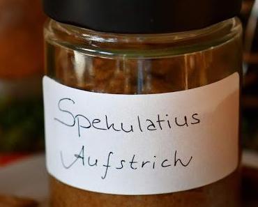Spekulatius-Aufstrich aus selbstgebackenen Dinkel-Gewürz-Spekulatius