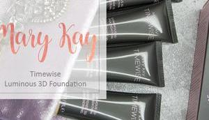 Mary Timewise Luminous Foundation Review Swatches