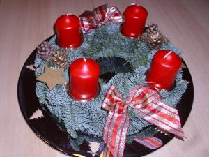 Adventskalendertürchen Nr. 11 – Adventskranz