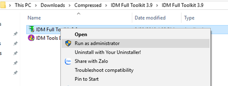 Free Download IDM Toolkit v3.9 ptk911: 1 CLICK activate IDM – Internet Download Manager