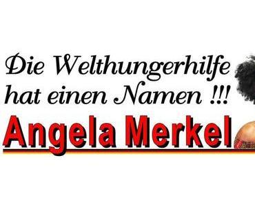 Die Welthungerhilfe hat einen Namen; Angela Merkel