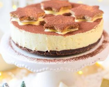 Zimtstern Cheesecake - glutenfrei & no bake