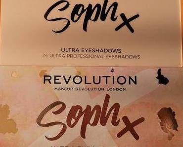 [Werbung]  Makeup Revolution Soph X Eyeshadow Palette