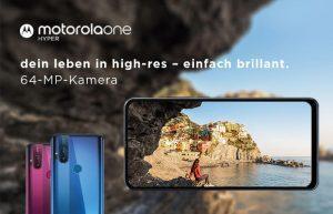 Motorola One Hyper Mittelklasse-Smartphone bietet ausfahrbare Kamera
