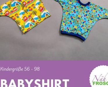 Baby Shirt und Jacke nähen: Das Schnittmuster Manis