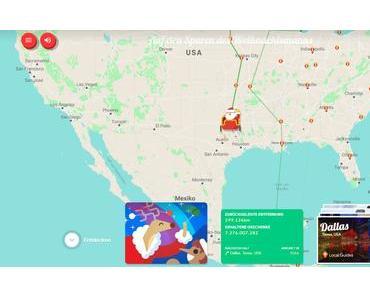 Der Google-Weihnachtsmann-Tracker für Kinder