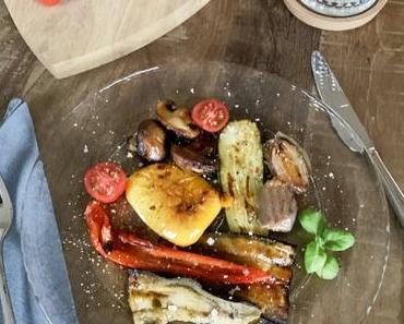 Antipasti Gemüse aus dem Ofen – leicht und lecker
