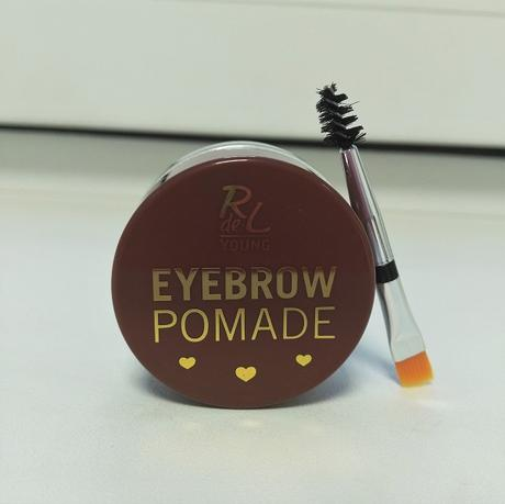 [Werbung] Catherine Classic Lac 393 oxford circus + RdeL Young Eyebrow Pomade 01 soft brown