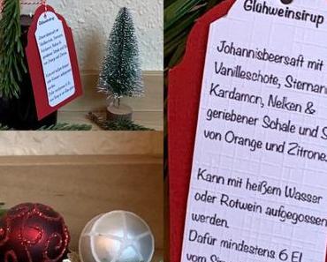 Auch im Winter lecker, nicht nur auf dem Weihnachtsmarkt – oder – Fruchtiger Glühweinsirup