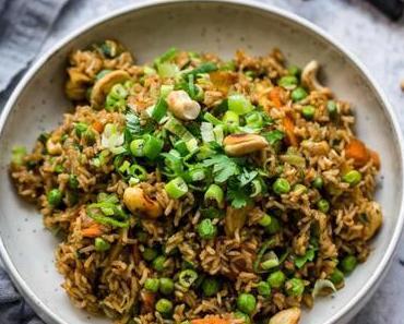 Curry Reis mit Gemüse