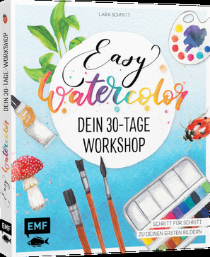 [Rezension] Easy Watercolor – Dein 30-Tage-Workshop