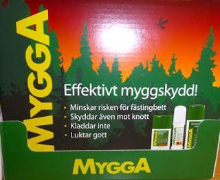 Dieses Jahr kann ein reiches Mückenjahr in Schweden werden! Mygga hilft!
