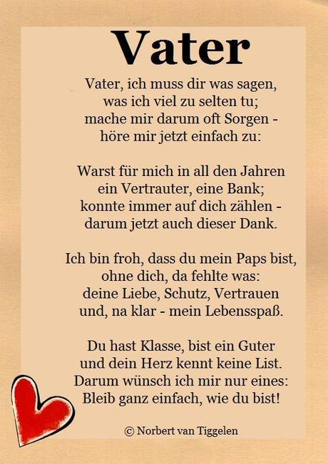Gedichte zum geburtstag für papas
