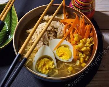 Ramen Nudelsuppe selber machen geht schnell und ist echt lecker #Rezept #Food #Asiatisch