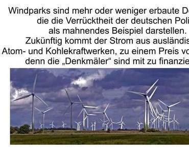 In Deutschland wütet die GRÜNE Seuche; keinen Strom, keine Autos, aber hohe Preise