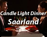 Candle light dinner valentinstag saarland