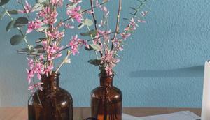 Friday -Flowerday oder Minimalistische Blümchen Schattenspiele