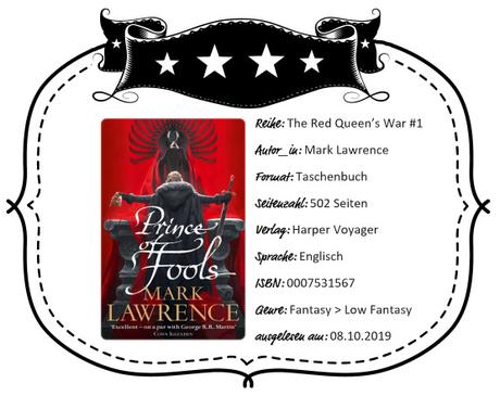 Mark Lawrence – Prince of Fools
