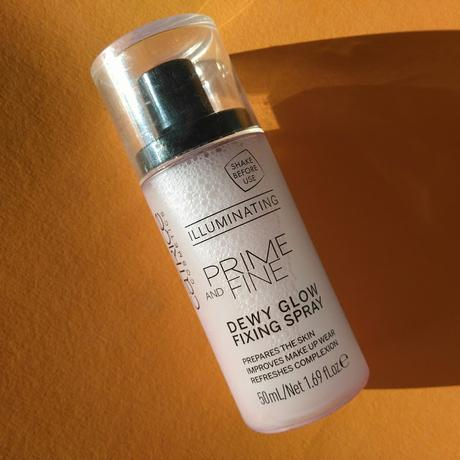 [Werbung] Catrice Prime and Fine Dewy Glow Fixing Spray