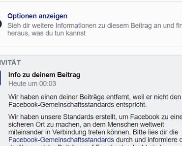 Fuckbook Facebook: Der Meinungsterror geht weiter